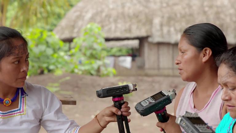 ZDF Radio-Frauen aus dem Regenwald Planet-e Siegmund Thies